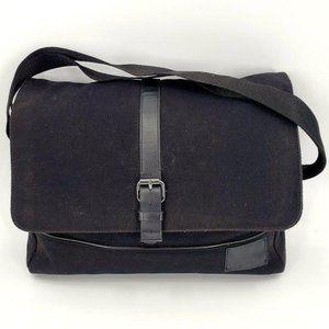 Calvin Klein Coated Canvas Laptop Messenger Bag